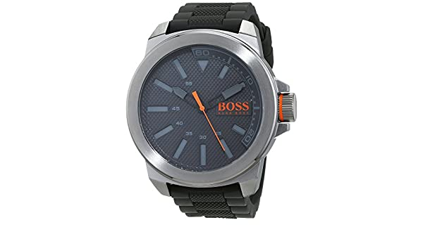 Amazon.com: Boss Orange New York 1513005 Mens Wristwatch Solid Case: Watches