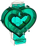 Creative Foraging Systems+E487 Mastermind Heart Pet Feeder, 7 by 8 by 3-Inch