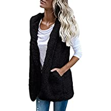 Hot Sale Vest Hoodie, Auwer Winter Warm Sherpa Hooded Gilet Jacket Casual Coat