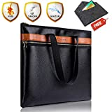 Today-70-Off-Fire-Safe-Fireproof-Document-Bag-NON-ITCHY-FireWater-proof-Messenger-Briefcase-Zipper-Closure-Double-Pockets-File-Safe-PouchHolder-Withstand-206216x12x2US-Version