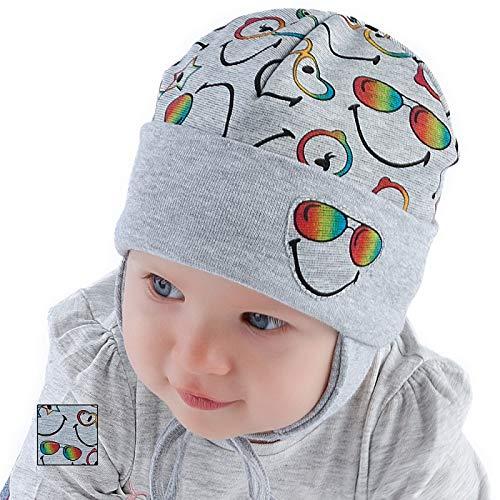 Baby Boy Hat Boys Spring Autumn Cap 9 12 18 24 mths New 2-3 Years 52cm, Grey