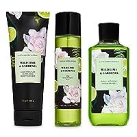 Bath and Body Works WILD LIME & GARDENIA Gift Set - Body Cream - Fragrance Mist...
