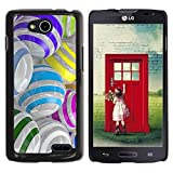 For LG L90 D405 (NOT FOR LG L70 Dual / D410) , S-type® Colorful Glass Reflective Orb Abstract - Colorful Printed Hard Protective Back Case Cover Shell Skin