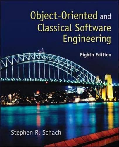 Object-Oriented and Classical Software Engineering by McGraw-Hill Education