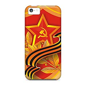 First-class Cases Covers For Iphone 5c Dual Protection Covers Victory The Day Of Wallszone