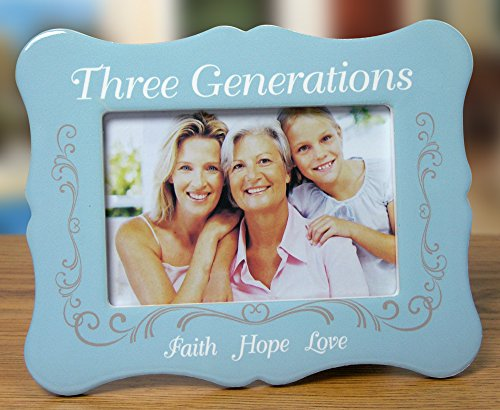 BANBERRY DESIGNS Three Generations Picture Frame - 4