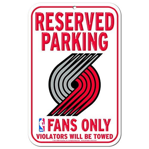 NBA Portland Trail Blazers Plastic Sign, 11 x 17