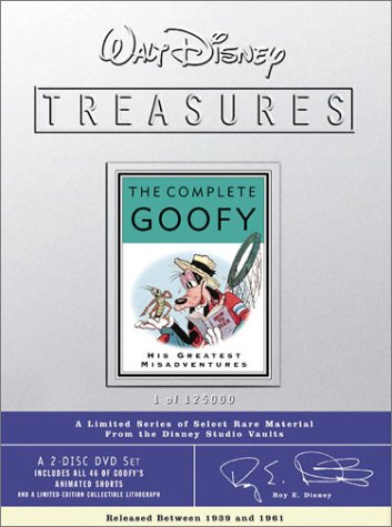 Walt Disney Treasures - The Complete Goofy by Walt Disney Home Video