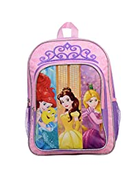 "Disney Girls' Princess Character 16"" School Backpack"