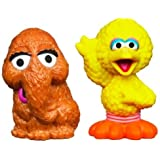 Sesame Street Figures Big Bird and Snuffleupagus, 2-pack