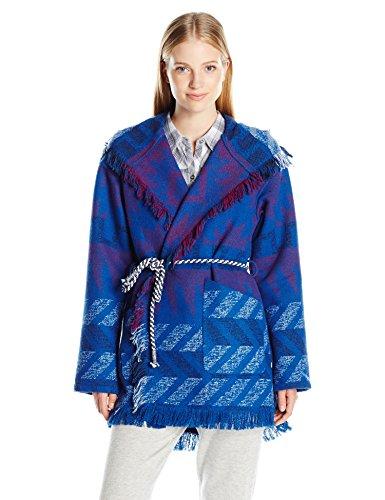 atalina Jacket, Outlands Palace Blue, X-Small (Roxy Santa)