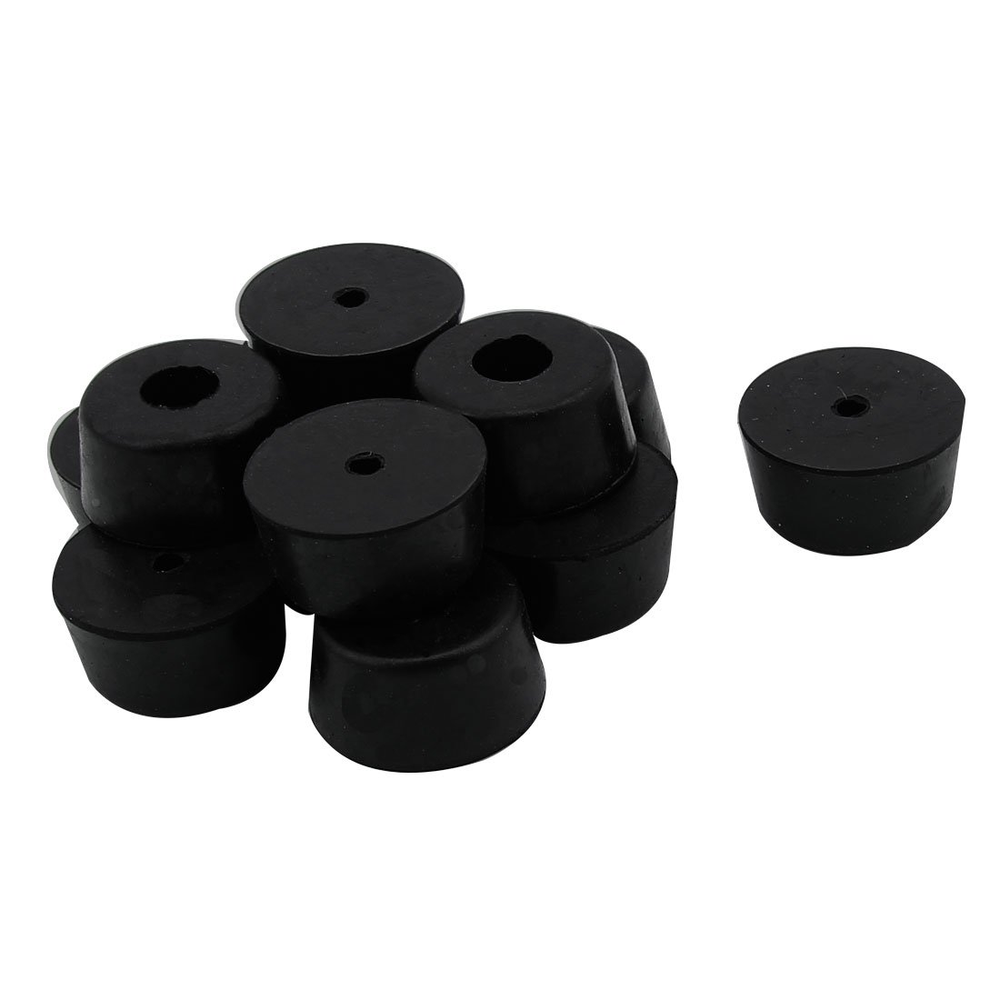sourcingmap® Gummi Lautsprecher Möbel Stuhl Füße Pad 25mm x 22mm x ...