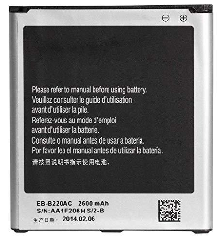 CRAXDEALS High Backup Compatilble Battery for Samsung Galaxy Grand 2 EB B220AEBECIN  SM G7102/ 7106  2600 mAh
