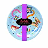 C.R. Gibson Lolita Love My Social Butterfly 7-Inch Melamine Appetizer Plates, Set of 4