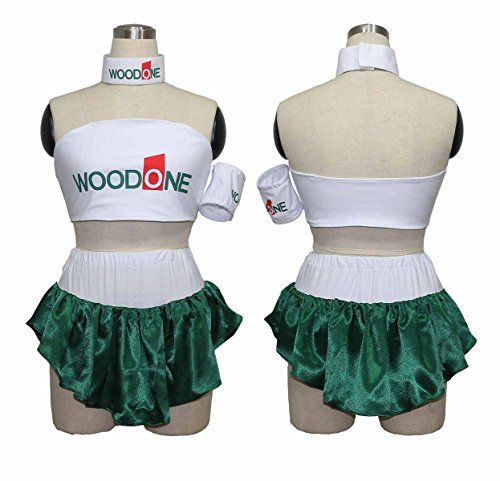 [makura Women's 32382003 GT Championship race queen Gallery WOODONE Cosplay (XXL)] (Costumes Gallery In Stock)