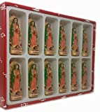 3'' Set of 12 Our Lady of Guadalupe Figurine Statue New