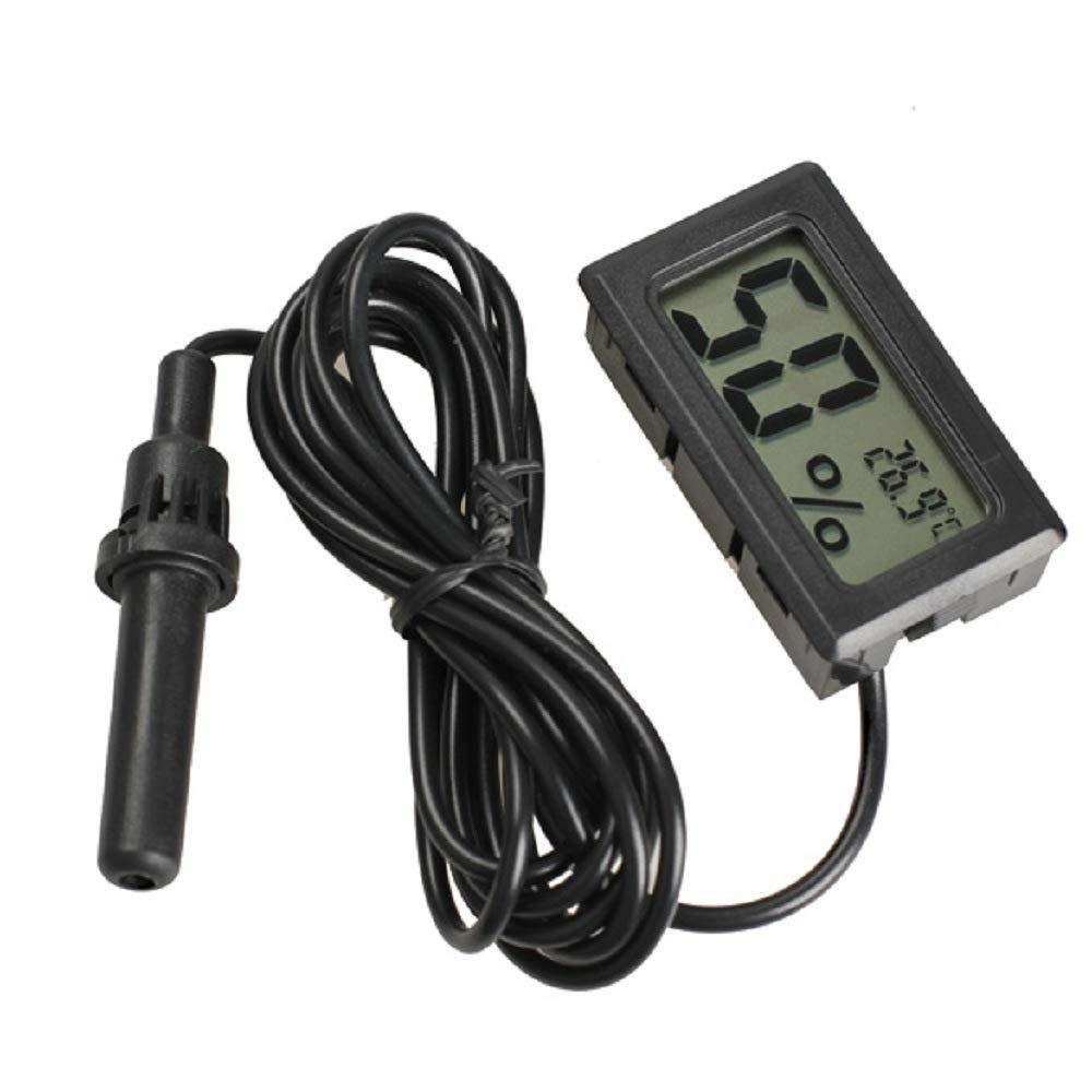LCD Temperature Humidity Sensor Hygrometer Moisture Meter