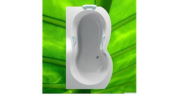 Bañera 160 x 90 cm bañera 160 acrílico bañera 90 x 160 rectángulo bañera Variante Izquierda: Amazon.es: Bricolaje y herramientas