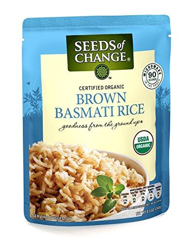 SEEDS OF CHANGE Organic Brown Basmati Rice, 8.5oz