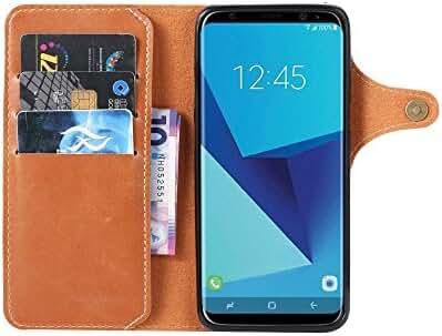 Samsung Galaxy S8 Plus Handmade Wallet Case Credit Card Protector