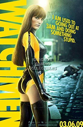 CGC Huge Poster - DC Watchmen Silk Spectre