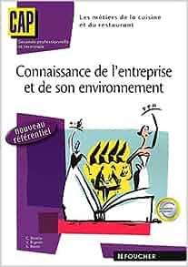 connaissance de l entreprise et de son environnement pdf