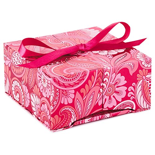Hallmark Gift Card or Money Holder: Pink Flowers Pop-Up Box