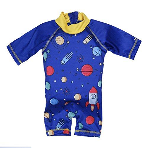 Lycra Float Suit - Megartico Kids Swim Float Suit T-Shirt Buoyancy Swimwear Trainer