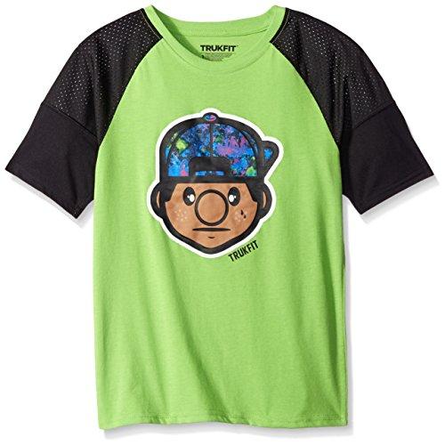 TRUKFIT Big Boys' Lil Tommy Truk Mesh Sleeve Tee