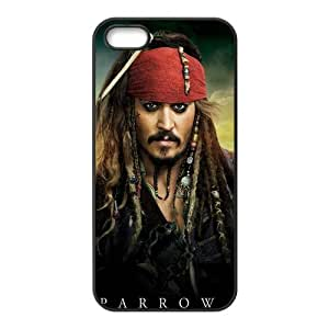 Custom Pirates Of The Caribbean Back Cover Case for iphone5,5S JN5S-207