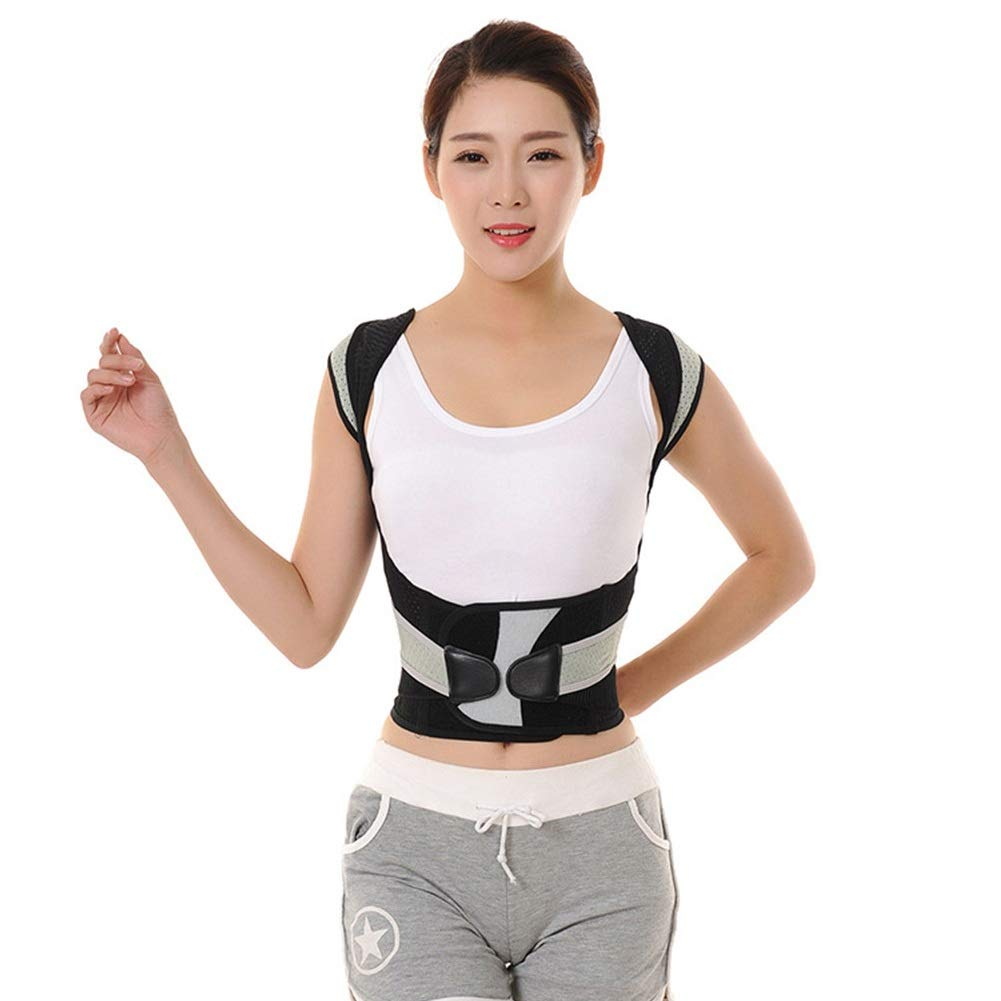 Corrector de postura Posture Corrector, Support Brace for Back Shoulder Shape The Perfect Body Neck Pain Relief Clavicle Physiotherapy Supplies (Size : XS50-60cm)