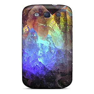 New S.N.H Super Strong Rainbow Crystals Tpu Case Cover For Galaxy S3