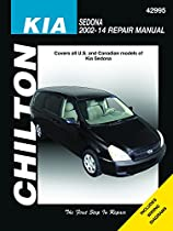 Kia Sedona Chilton Automotive Repair Manual: 02-14