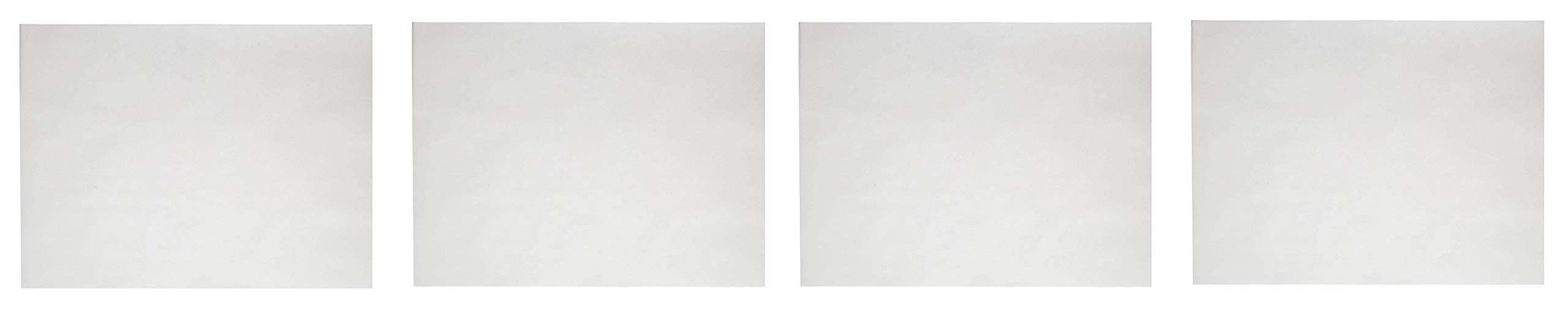Sax Sulphite Drawing Paper, 70 lb, 18 x 24 Inches, Extra-White, Pack of 500 (4-Pack) by Sax