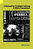 Manual for Problem Solving in Bible Translation