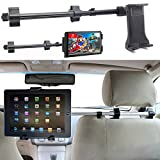 Best Tablet Car Mounts - ChargerCity Premium Center Extension Car Seat Headrest Mount Review
