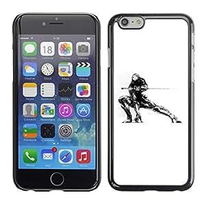 GagaDesign Phone Accessories: Hard Case Cover for Apple iPhone 6 Plus 5.5 Inch - Samurai Mech Warrior