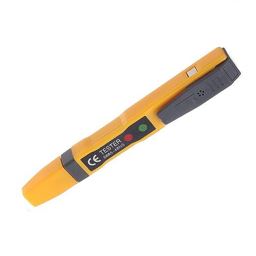 JENOR LED Luz AC Circuito Eléctrico Corriente Tester Volt Alerta Pluma Detector Sensor 90~1000