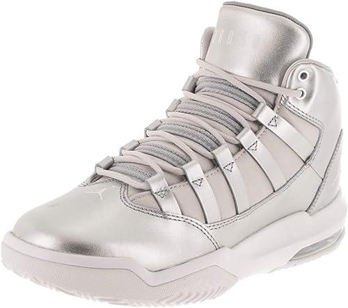 solamente Obligar Obstinado  Amazon.com: Nike Jordan Kids Jordan Max Aura SE (GS) Silver/Vast Grey/Wht  Basketball Shoe 4.5 Kids US: Shoes