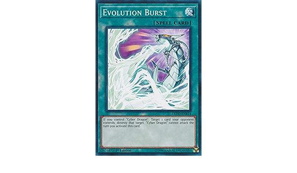 YU-GI-OH Evolution Burst Comon englisch LEDD-ENB14 Evolutionsausbruch