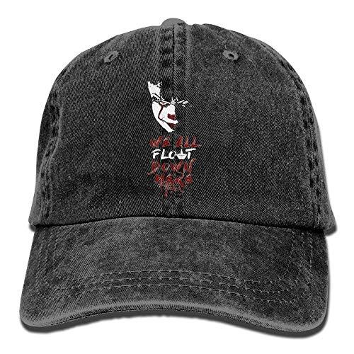 Baseball Yuerb All Male Hat Adjustable Here Down Tactical Cap béisbol We Float Gorras Denim rq6rB7v