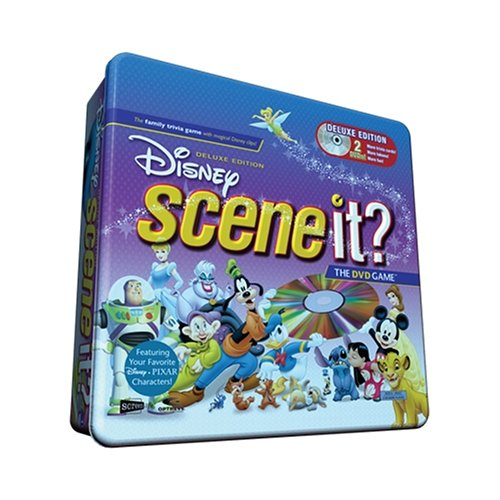 Scene It? Deluxe Disney Edition DVD Game by Screenlife