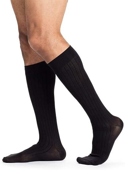 Outdoor Men Breathable Running Safety Night Light Causal Natural Socks Stockings