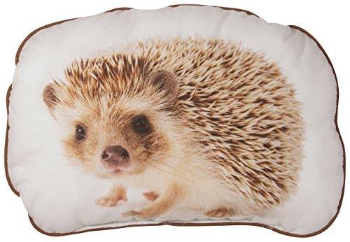 Sweethearts Kuschelkissen Igel ca. 30x40 cm im angesagten Digitaldruck 100% Baumwolle (kuschelig gefüllt) Farbe 070 Braun