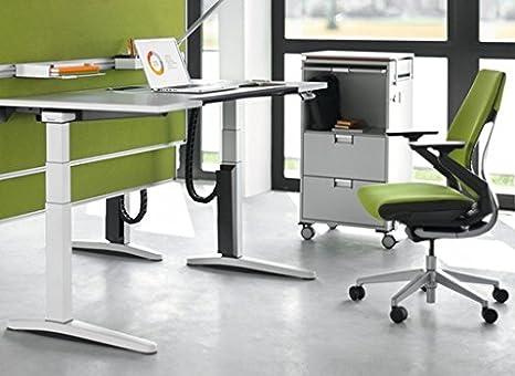 Sedia Ufficio Verde Mela : Sedia girevole gesture von stee lcase mela verde schiena rigida