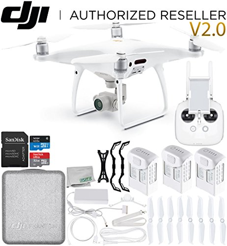 DJI Phantom 4 PRO V2.0/Version 2.0 Quadcopter Ultimate Bundle