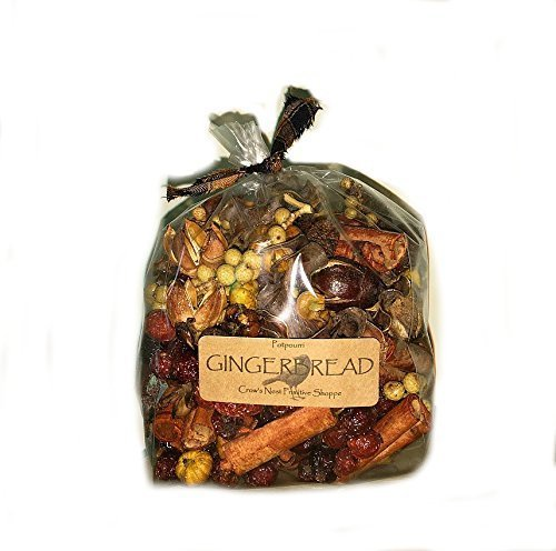 Gingerbread Fragrance Scented dried Potpourri Mixture with Cinnamon, Rosehips, Pods and Berries