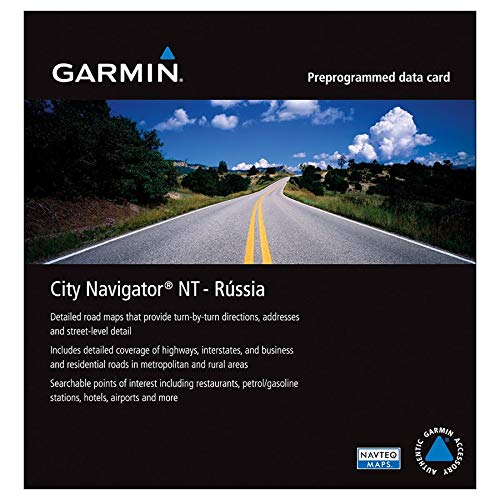 Garmin City Navigator for Detailed Maps of Areas in Western ...