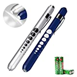 Opoway-Nurse-Penlight-with-Pupil-Gauge-LED-Medical-Pen-Light-for-Nurses-Doctors-with-Batteries-Included-2ct-Si