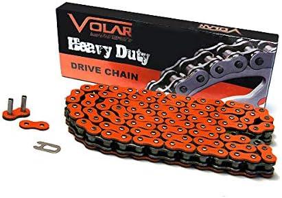 Volar Heavy Duty Chain Orange 1986-1988 Honda FourTrax 200 TRX200SX 2x4 Fourtrax